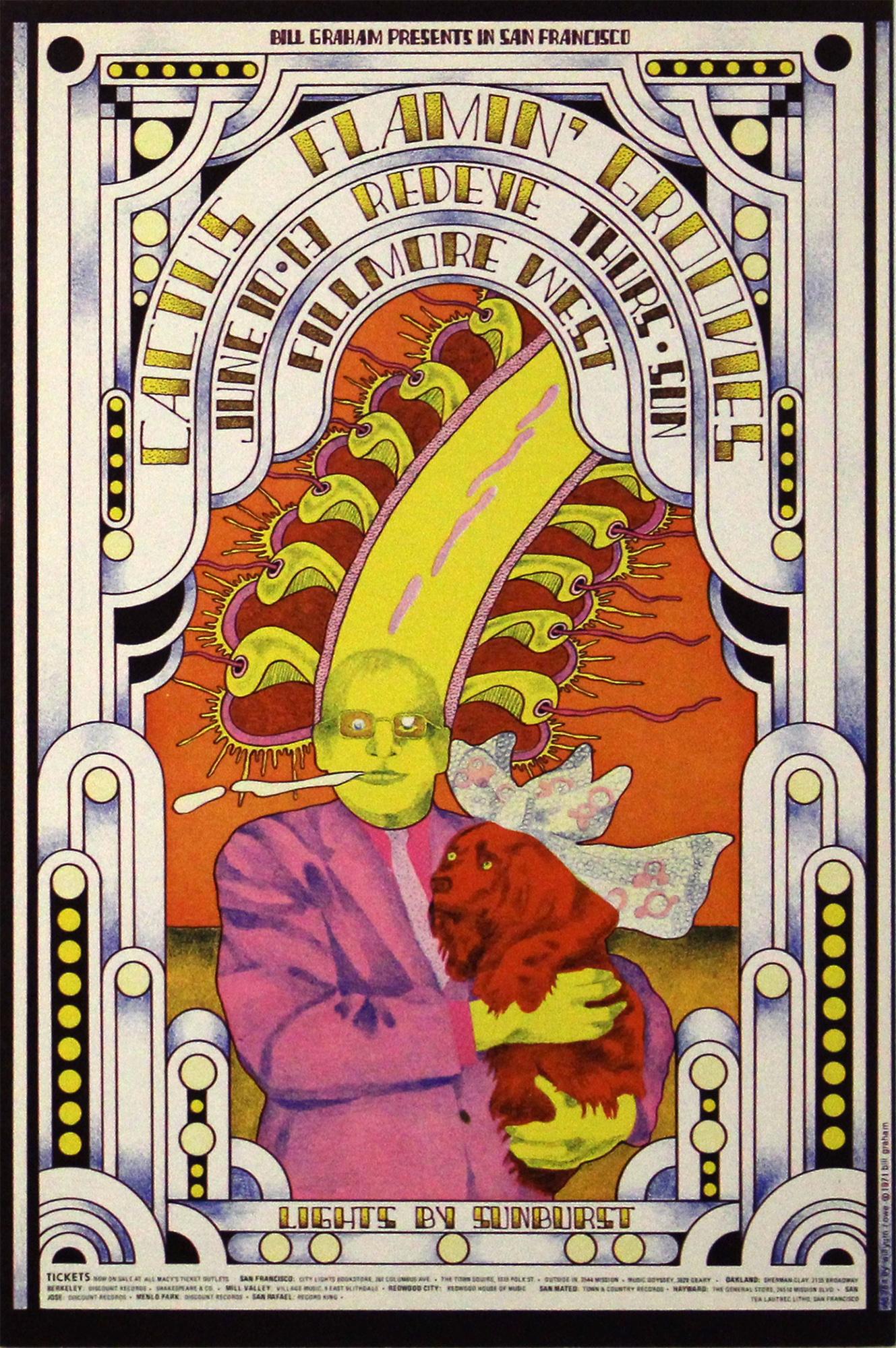 Cactus Handbill