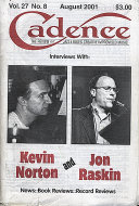 Cadence Magazine August 2001 Magazine