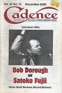 Cadence Magazine December 2000 Magazine