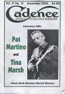 Cadence Magazine December 2005 Magazine