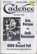 Cadence Magazine January 2003 Magazine