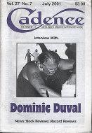 Cadence Magazine July 2001 Magazine