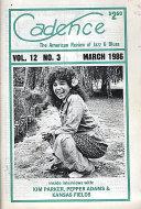 Cadence Magazine March 1986 Magazine