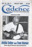 Cadence Magazine March 1999 Magazine