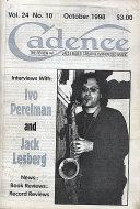 Cadence Vol. 24 No. 10 Magazine