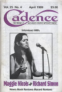 Cadence Vol. 25 No. 4 Magazine