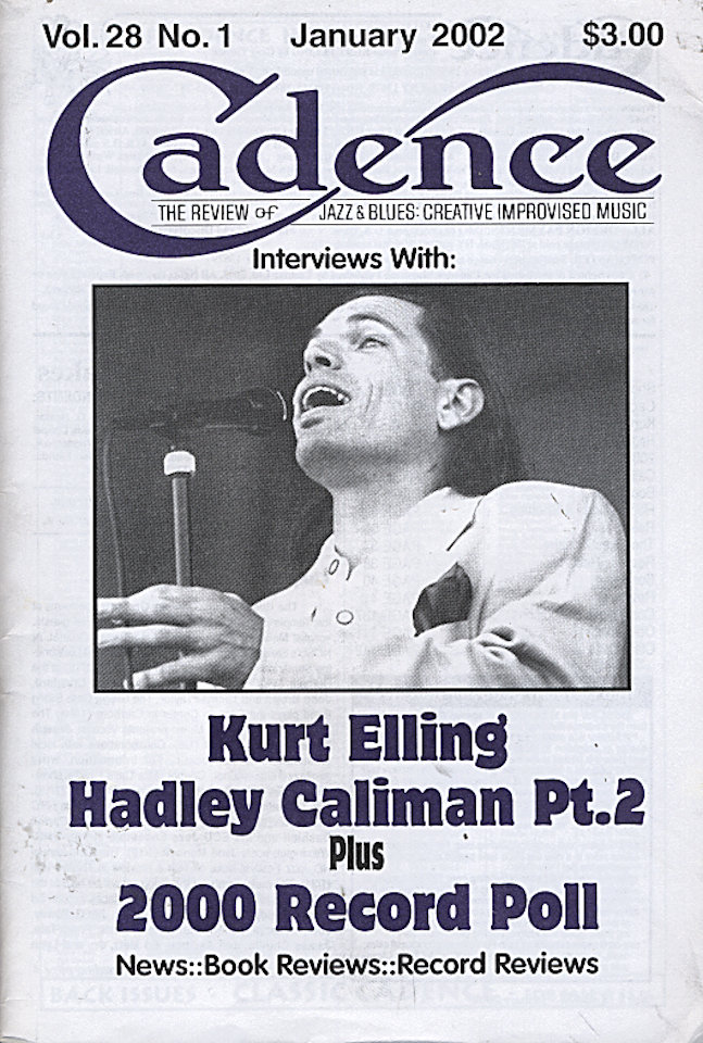 Cadence Vol. 28 No. 1