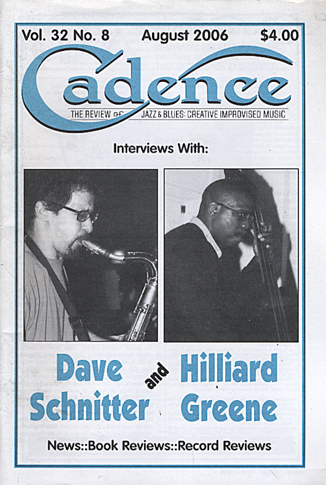 Cadence Vol. 32 No. 8