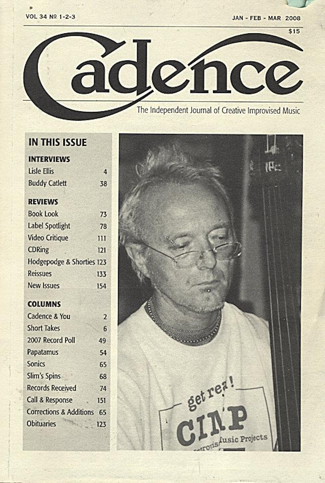 Cadence Vol. 34 No. 1-2-3