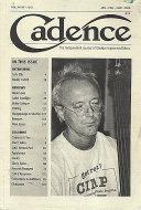 Cadence Vol. 34 No. 1-2-3 Magazine