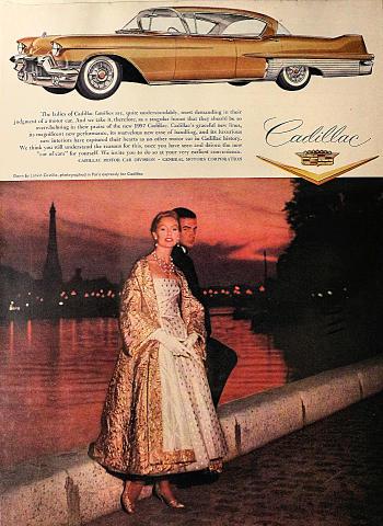 Cadillac DeVille Vintage Ad