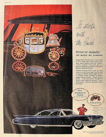 Cadillac Fleetwood Sixty Special Sedan Vintage Ad