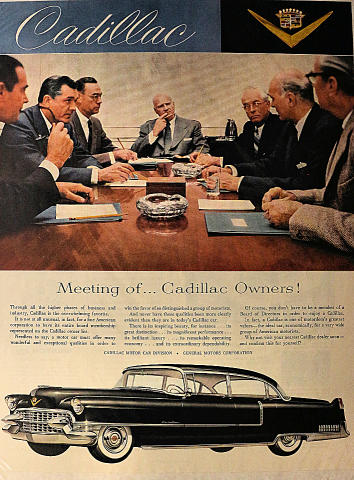 Cadillac: Meeting Of...Cadillac Owners! Vintage Ad