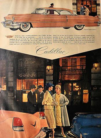 Cadillac Sedan DeVille Vintage Ad
