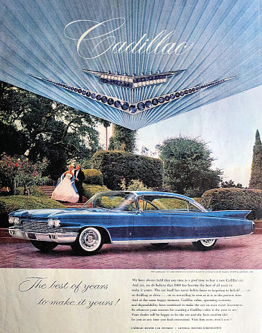 Cadillac: The Best Of Years To Make It Yours! Vintage Ad