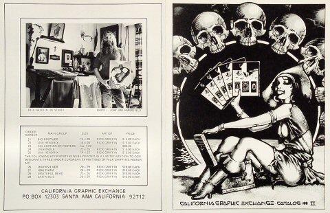 California Graphic Exchange Catalog #2 Program