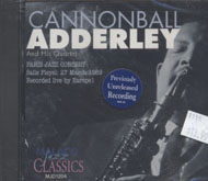 Cannonball Adderley and His Quartet CD