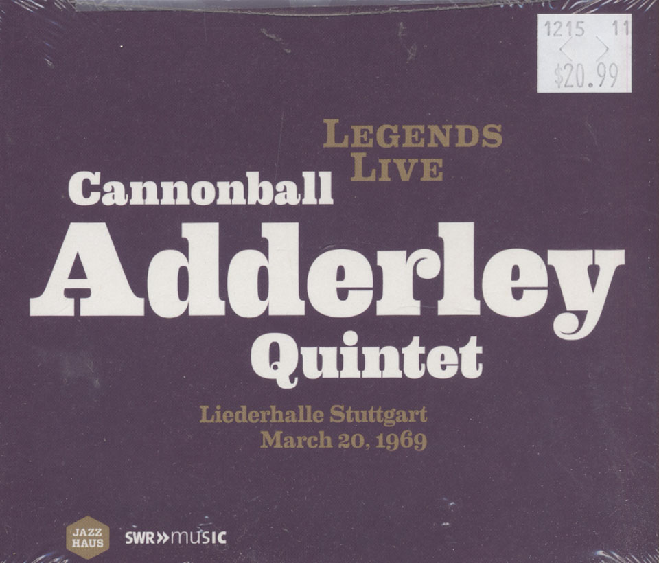Cannonball Adderley Quintet CD