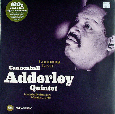 "Cannonball Adderley Quintet Vinyl 12"" (New)"