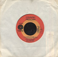 "Cannonball Adderley Quintet Vinyl 7"" (Used)"