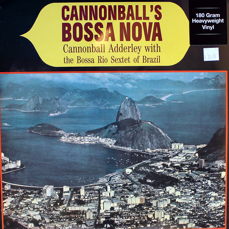 "Cannonball Adderley With The Bossa Rio Sextet Of Brazil Vinyl 12"" (New)"