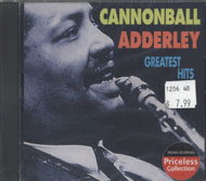 Cannonball Adderley CD