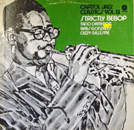"Capitol Jazz Classics Vol. 13: Strictly Bebop Vinyl 12"" (Used)"