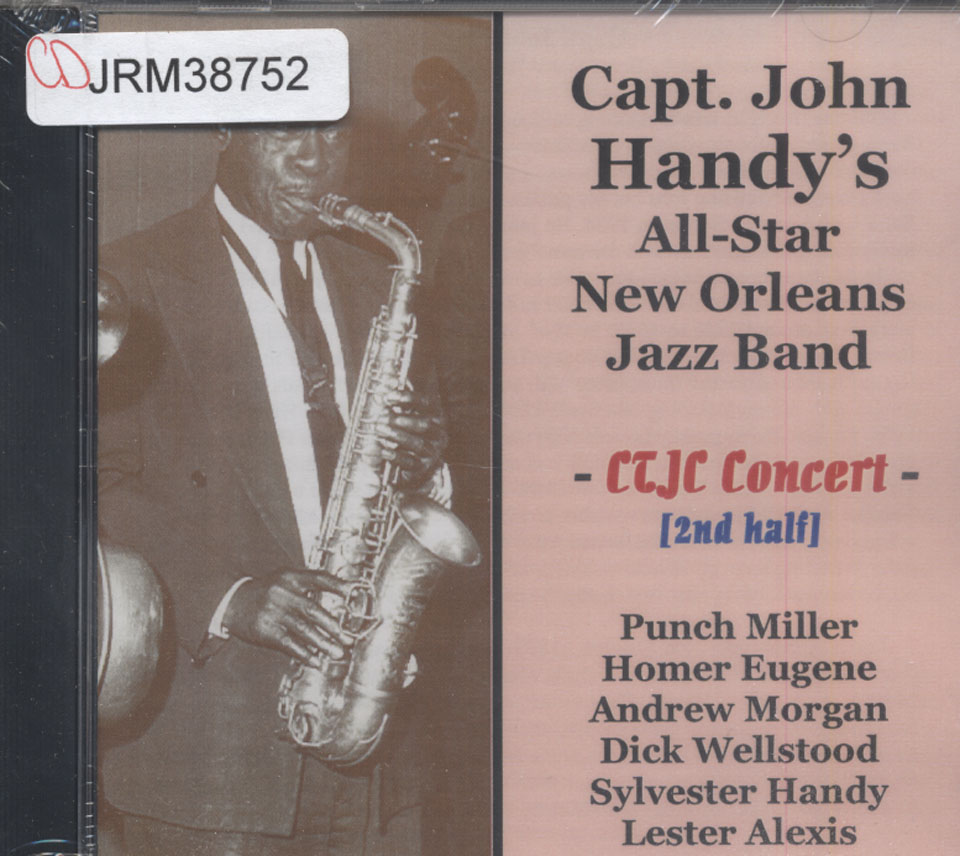 Capt. John Handy 's All-Star New Orleans Jazz Band CD