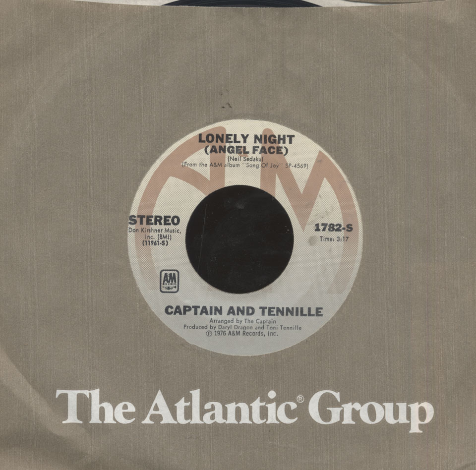 "Captain & Tennille Vinyl 7"" (Used)"