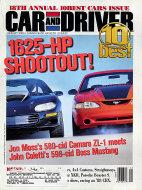 Car and Driver  Jan 1,2000 Magazine