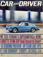 Car and Driver Magazine April 1963 Magazine