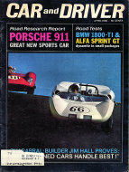 Car and Driver Magazine April 1965 Magazine