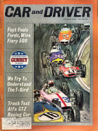 Car and Driver Magazine August 1964 Magazine