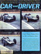 Car and Driver Magazine January 1963 Magazine