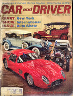 Car and Driver Magazine May 1963 Magazine