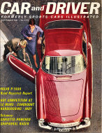 Car and Driver Magazine September 1961 Magazine