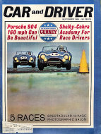 Car and Driver Magazine September 1964 Magazine