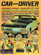 Car and Driver Magazine September 1965 Magazine