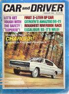 Car and Driver Vol. 11 No. 8 Magazine