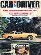 Car and Driver Vol. 18 No. 5 Magazine