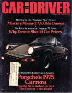 Car and Driver Vol. 20 No. 9 Magazine