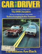 Car and Driver Vol. 21 No. 5 Magazine
