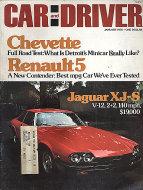 Car and Driver Vol. 21 No. 7 Magazine