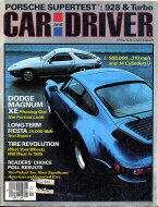 Car and Driver Vol. 23 No. 10 Magazine