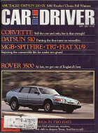 Car and Driver Vol. 25 No. 11 Magazine