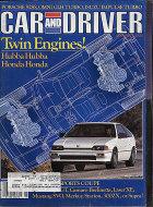 Car and Driver Vol. 30 No. 11 Magazine