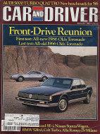 Car and Driver Vol. 31 No. 2 Magazine