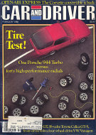Car and Driver Vol. 31 No. 8 Magazine