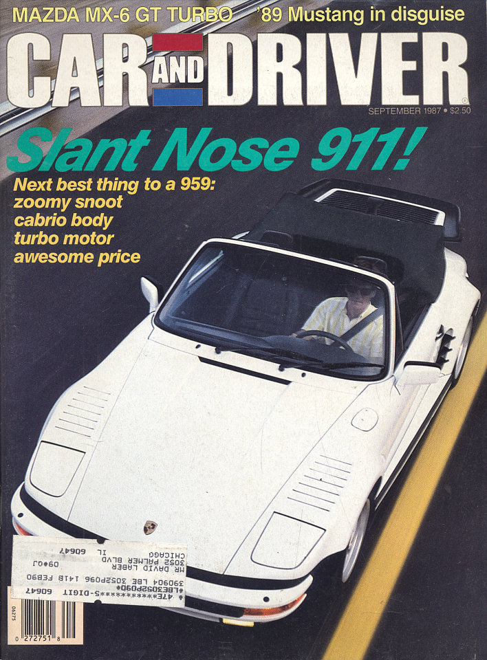 Car And Driver Vol. 33 No. 3
