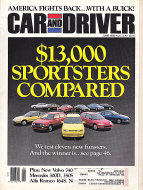 Car And Driver Vol. 35 No. 12 Magazine